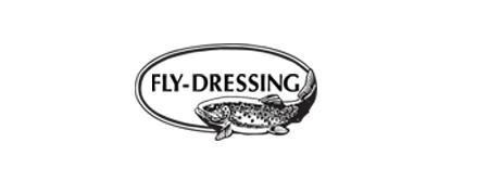 logotyp för fly dressing
